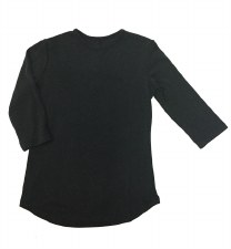 24/7 Ribbed Top Black 7
