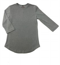 24/7 Ribbed Top LtGrey 8