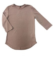 24/7 Ribbed Top Dusty Pink 7