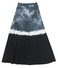 Tie Dye Long Skirt Blue 20