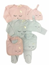 Blink 3pc Stretchie Set Grey 6