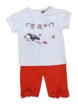 Baby Set W/ Clothesline White/