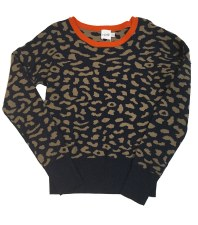 Printed Teen Sweater Navy L(20