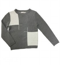 Colorblock Sweater Grey 7