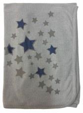 Ribbed Blanket Blue