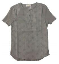Sweater Top W/ Stars Grey 24M