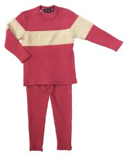 PJ W/ Sherpa Stripe Rose 5