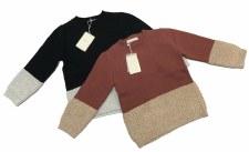 Metallic Knit Sweater Apple Bu
