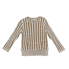 Cable Knit Sweater Beige 3