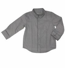 Shirt W/ Trim Grey 18M