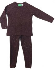 Ribbed Sparkle PJ Plum 12