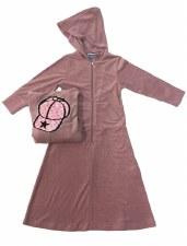 Terry W/ Sequin Cap Pink 12