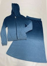 2pc Tie Dye Terry Denim 10