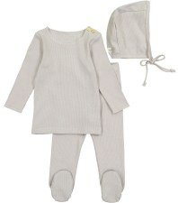 Ribbed Set Grey 12M
