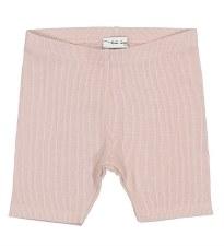 Lil Legs Ribbed Shorts Mauve 2