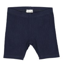 Lil Legs Ribbed Shorts Navy 12
