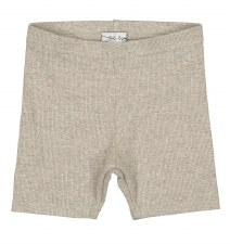 Lil Legs Ribbed Shorts Oatmeal