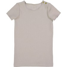Lil Legs S/S Ribbed Tee Sand 4