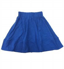 Circle Tshirt Skirt Blue 12