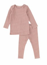 Rib Striped Set Mulberry 8