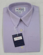 S/S Shirt Lilac 12M