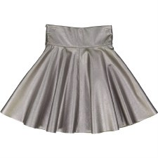 Metallic Skirt Silver 6