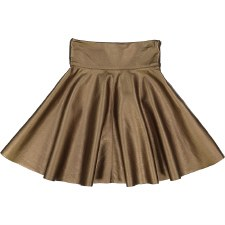 Metallic Skirt Gold 5