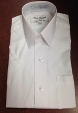 S/S Pique Shirt White 16