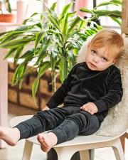 Analogie Velour Baby Set Grey