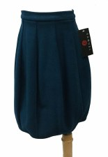 Brushed Bubble Skirt Teal 16