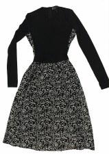 Teen Stars Dress Black/White L