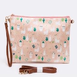 Llama Print Convertable Swing Bag