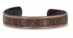 Vintage Bronze Cuff Bracelet