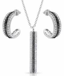 Classic Haloed Beauty Jewelry Sset