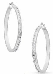 Star Light Hoop Earrings