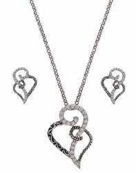 Woven Heats Jewelry Set