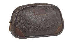 Tooled Travel Bag
