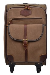 Canvas Wheeled Carry-On