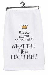 Mirror Mirror Flour Sack Towel