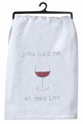 Merlot Flour Sack Towel