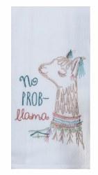 Lovely Llama Flour Sack Towel