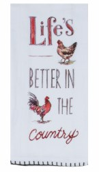 Country Life Flour Sack Towel