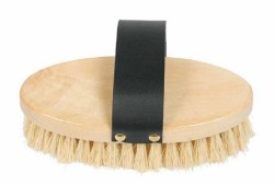 Wooden Medium Bristle Brush