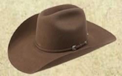 AHC Ranch Cowboy Pecan Felt 10X Hat