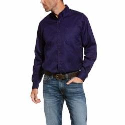 Mens Nightshade Blue Twill Shirt
