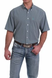 Mens Short Sleeve Button Shirt