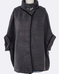 Ladies Fashion Cape Cardigan Poncho