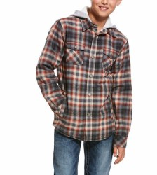 Boys Kemper Flannel Snap Jacket