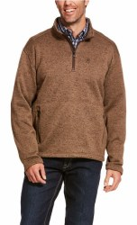 Mens Fossil 1/4 Zip Seater