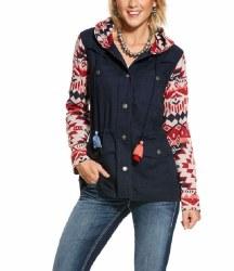Ladies Navy Harmony Jacket